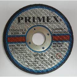 Диск за рязане на Метал 115x3x22.2 Primex