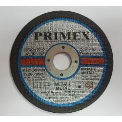 Диск за рязане на Метал 125x3x22.2 Primex