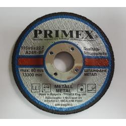 Диск за шлайфане на Метал 115x6x22.2 Prime