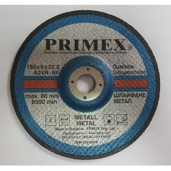 Диск за шлайфане на Метал 180x6x22.2 Prime