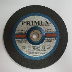 Диск за шлайфане на Метал 230x6x22.2 Prime