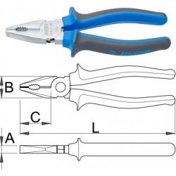 Клещи комбинирани BI – 406/1BI