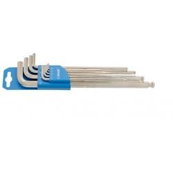 Kомплект удължени шестограми за работа под ъгъл на пластмасов държач – 220/3SLPH